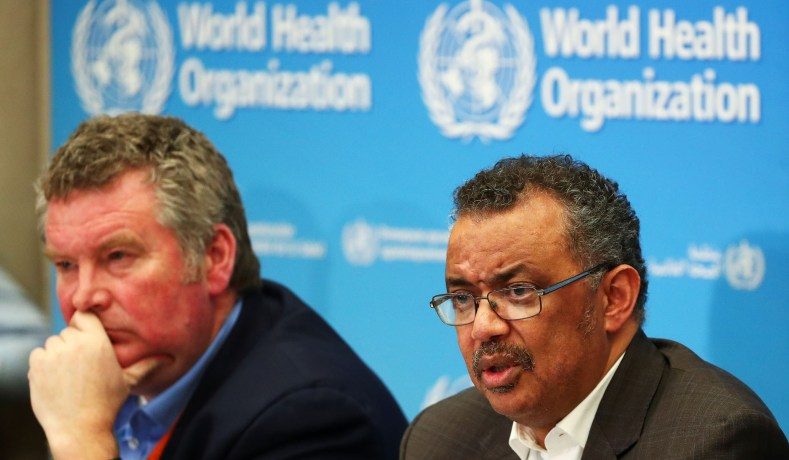WHO declares Europe new epicenter of coronavirus pandemic