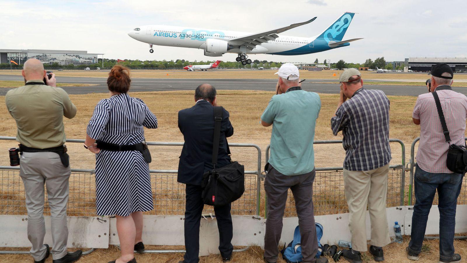 Canceled: Farnborough International Airshow latest victim of coronavirus