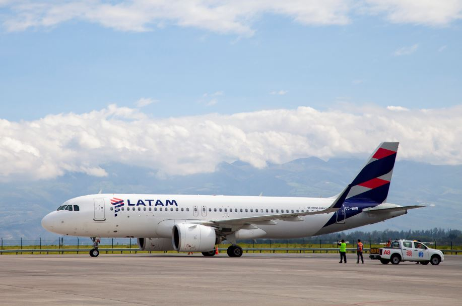 LATAM repatriates 3,370 people to return to their home countries