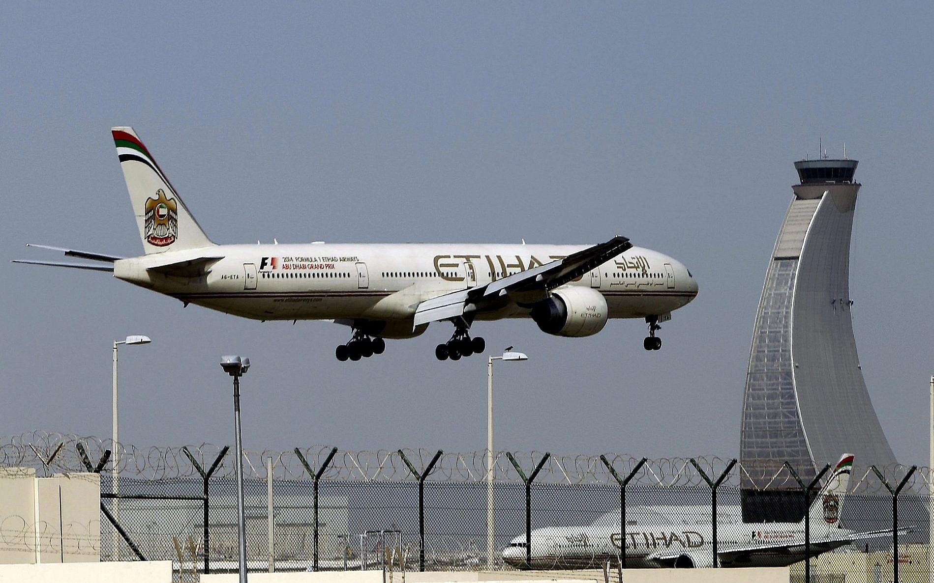 Etihad Airways grounds all UAE flights