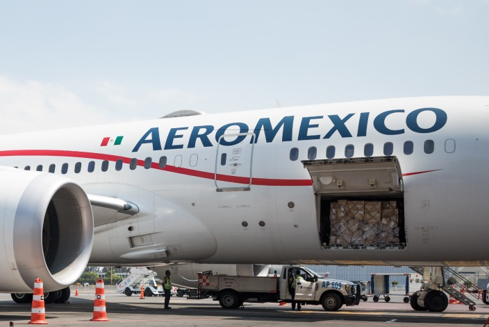 Aeromexico Passenger Jets for Cargo: Response to COVID-19 Emergency