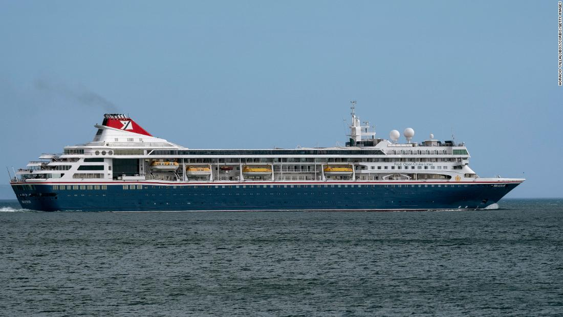 Cruise ship unable to dock in Bahamas receives critical medicines
