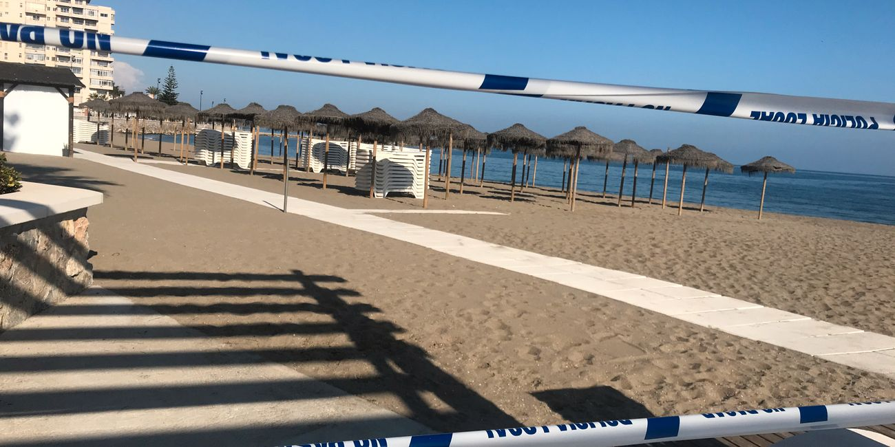 Spain closed up the entire country: Tourists stranded