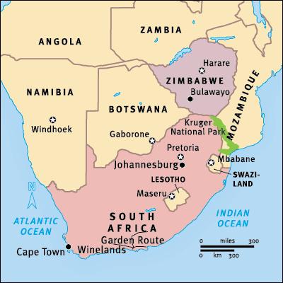South Africa Tourism closing