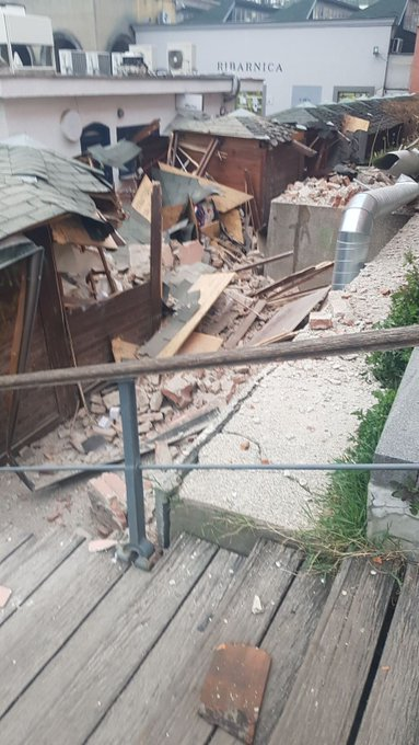 Хрватска: Град Загреб потресао земљотрес 6.0
