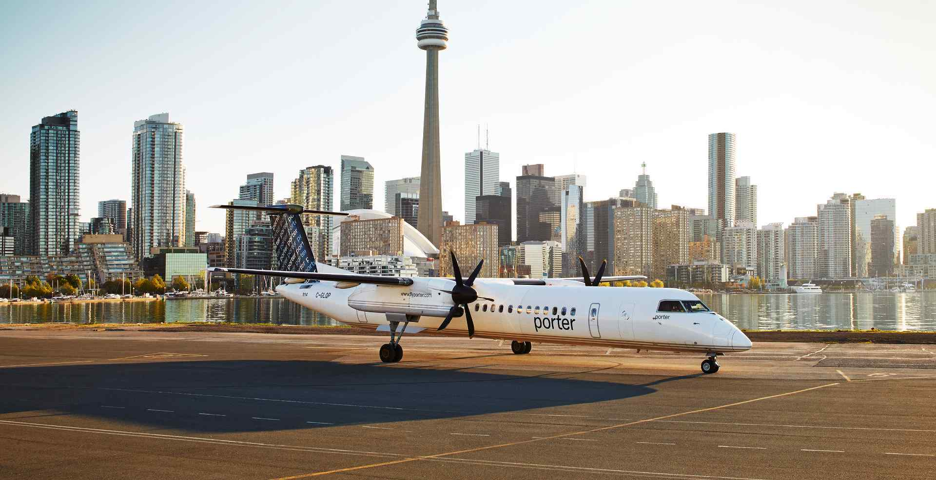 Porter Airlines taps Canada's federal wage subsidy program