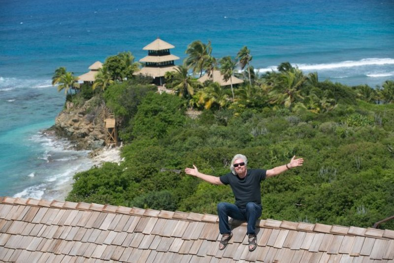 Branson offers his Caribbean island as collateral to UK for Virgin Atlantic bailout