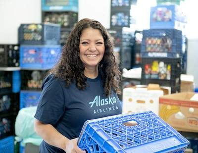 Alaska Airlines launches new challenge to feed families in need
