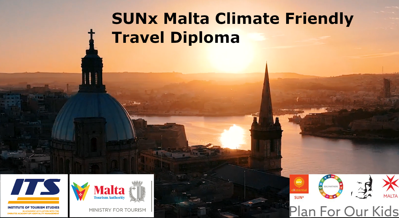 SUNx Malta launches world's first Climate Friendly Travel Diploma