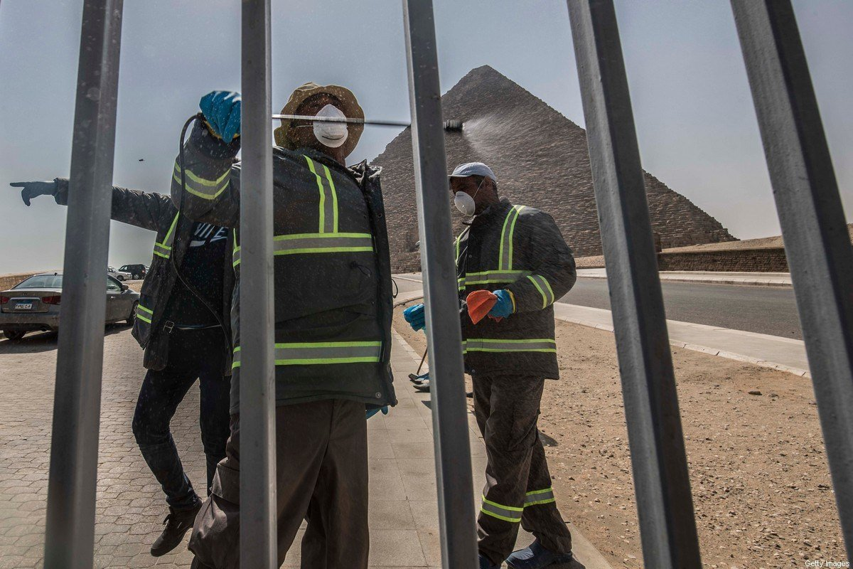 COVID-19 to cost Egypt's tourism $1 billion a month