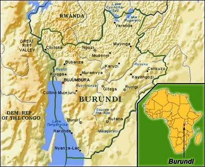 God Loves Burundi so the rest of Africa can get the virus?