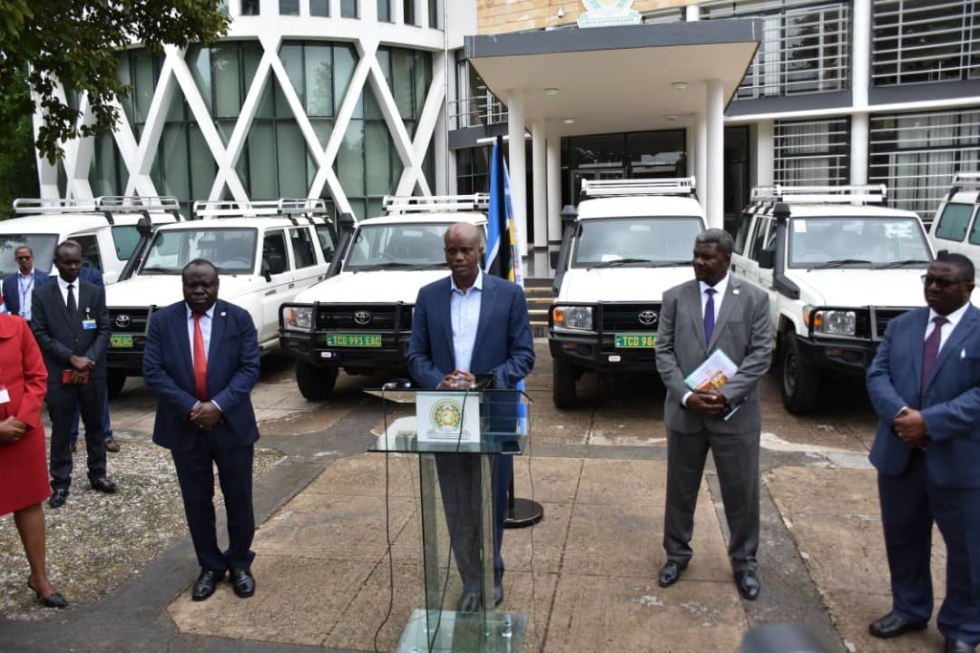 Germany donates Mobile Laboratories to fight Covid-19 in East Africa