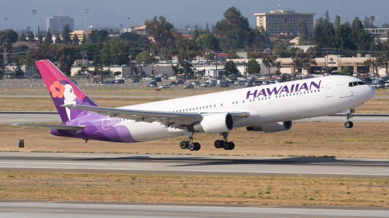 Hawaiian Airlines Suffers Sharp Decline