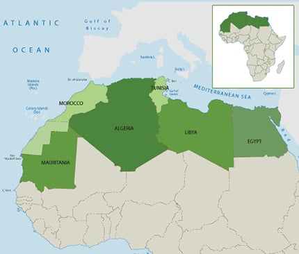 Tourism and Oil revenue gone : North Africa on the Edge of Collapse