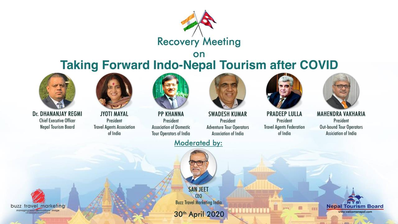 Nepal Tourism Board: Taking forward Indo-Nepal Tourism after COVID-19 crisis