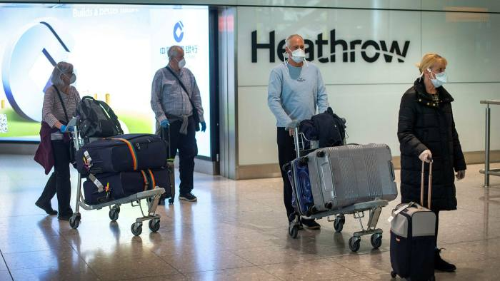 New arrivals to UK now have to spend two weeks in mandatory quarantine