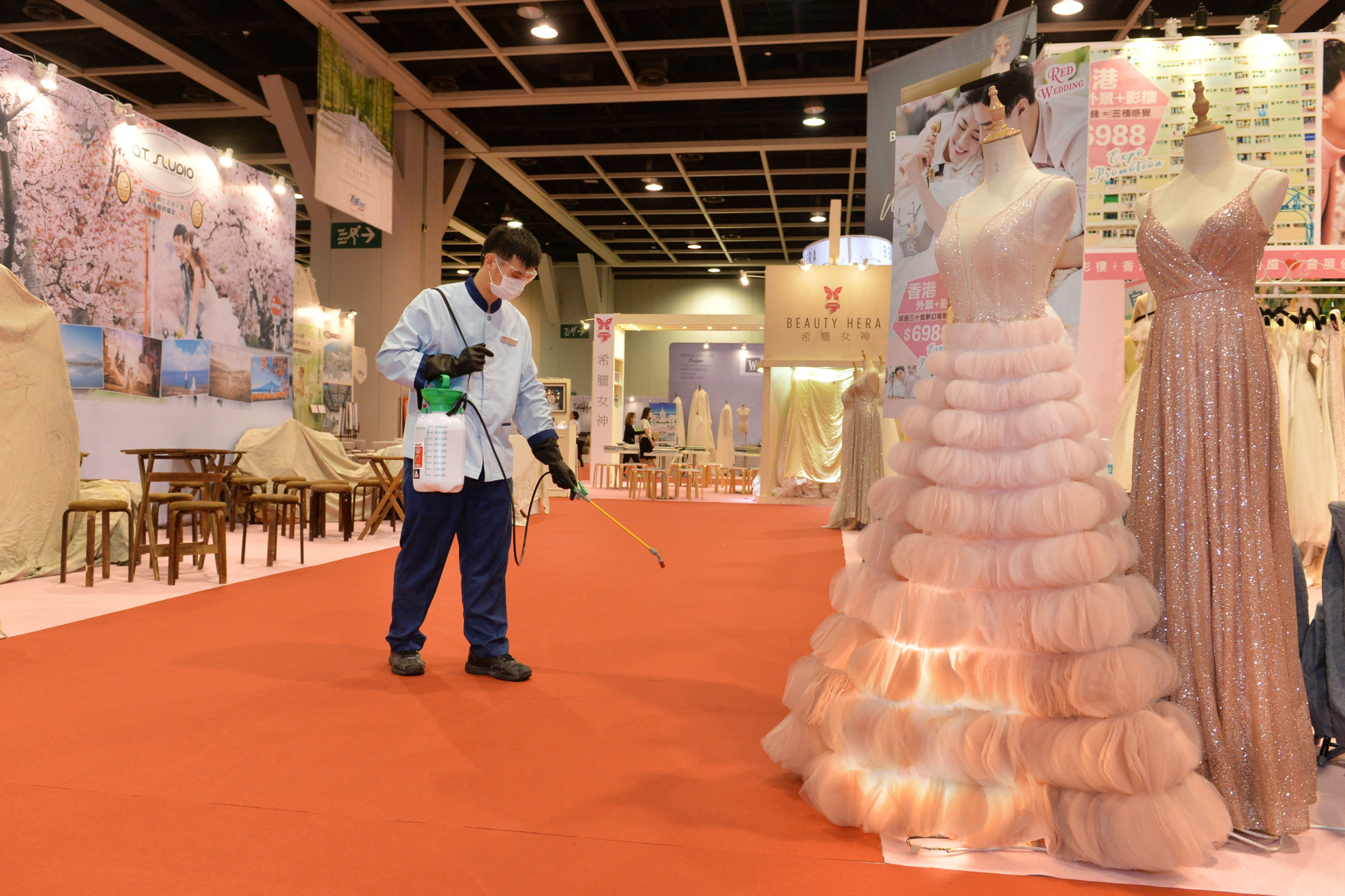 Hong Kong Convention and Exhibition Center is ready to welcome events back