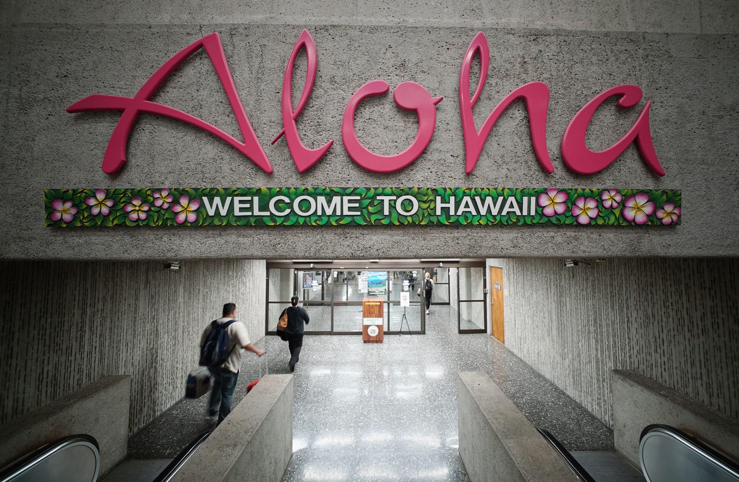 Visitor arrivals to Hawaiian Islands decreased 99.5 percent in April