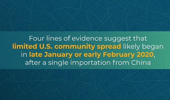 CDC confirms COVID-19 was detected in US already in January