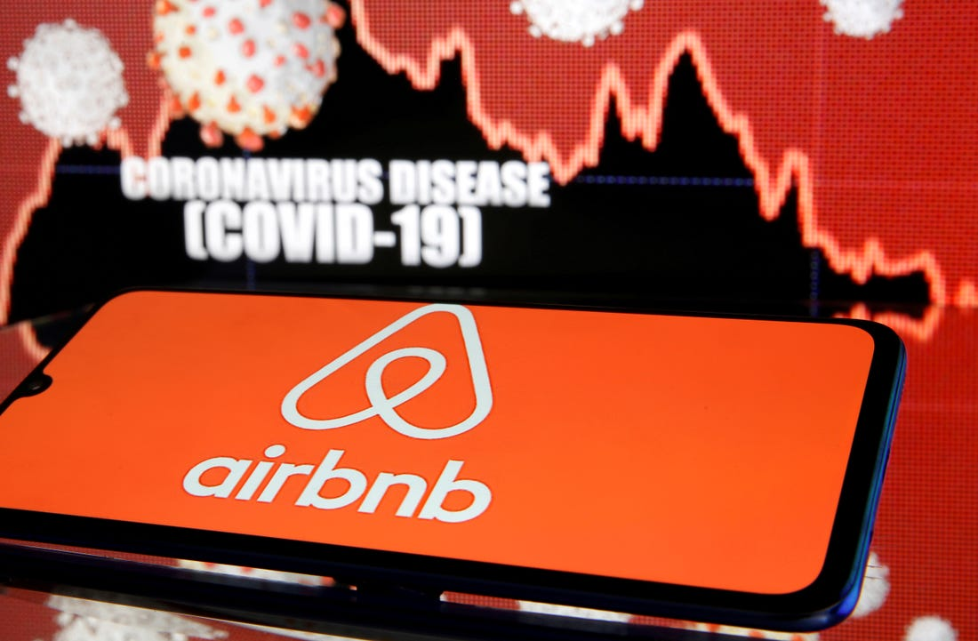 Airbnb occupancy rates rebound in states where lockdowns are ending