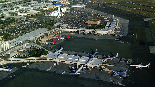 Flying into Honolulu? This is just a test!