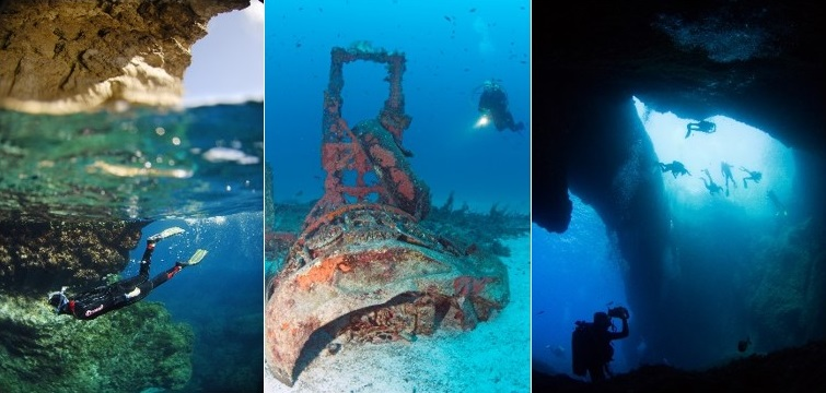 Dream Malta Now: Dive Into Some of the World's Top Sites Later