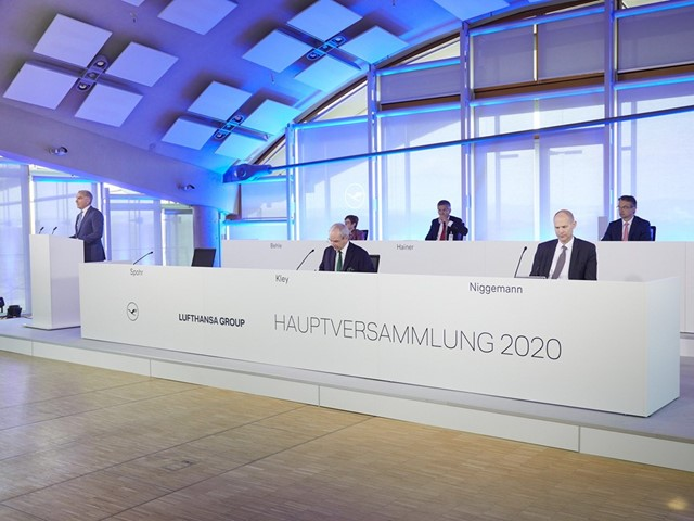 Lufthansa: Implementation of stabilization package not secured