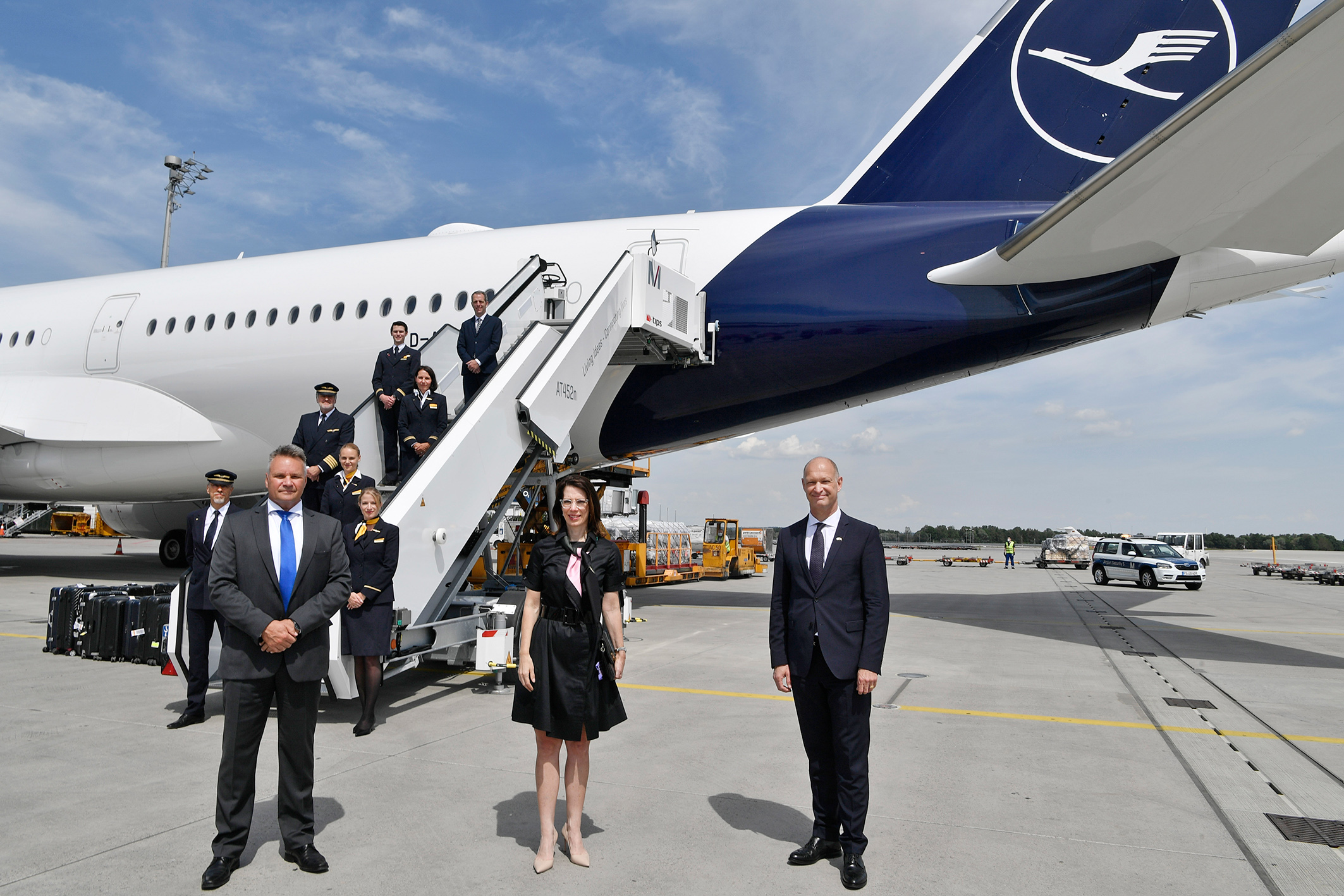 Lufthansa flies again from Munich to Los Angeles and Chicago