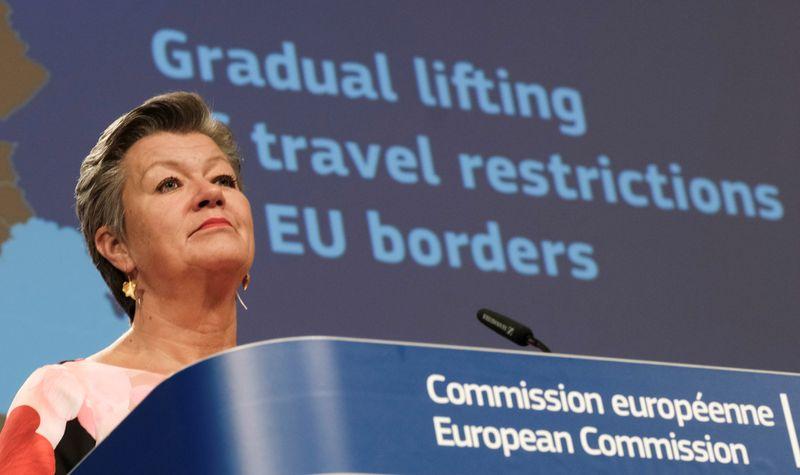 France unveils plans for reopening EU, non-Schengen borders