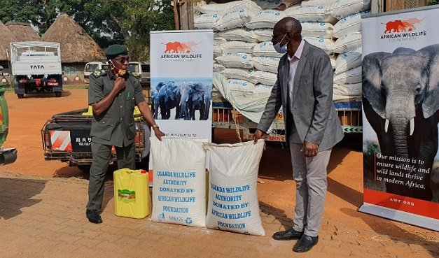 African Wildlife Foundation Donates Food Relief
