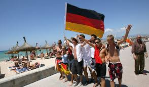 Human testing starts today for German tourists in Palma de Mallorca, Spain