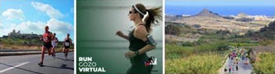 Virtual Gozo Half Marathon in the Mediterranean Archipelago of Malta?
