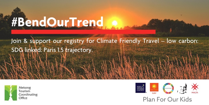 BEND OUR TREND Campaign for Climate Friendly Travel in the Mekong
