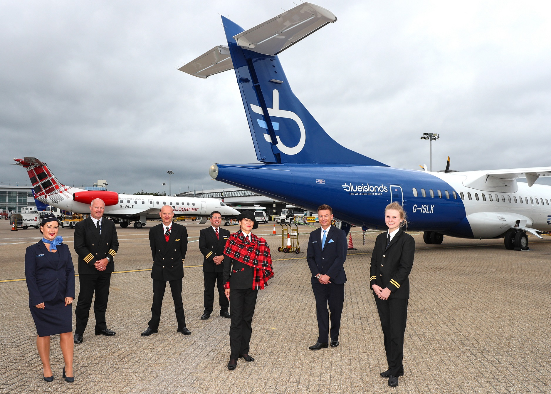 Loganair and Blue Islands partner to connect UK regions and Channel Islands