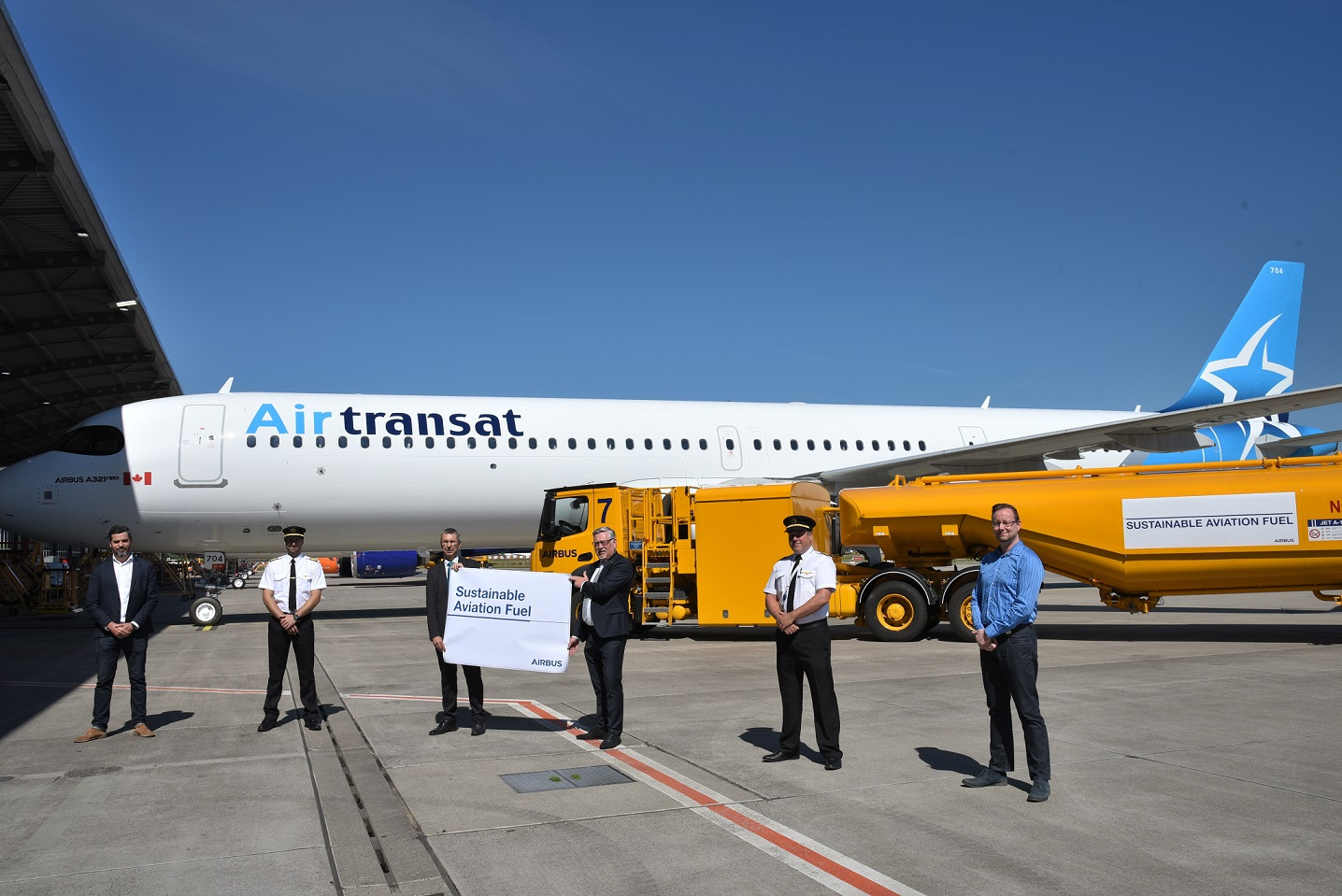 Airbus starts Hamburg deliveries with sustainable aviation fuel