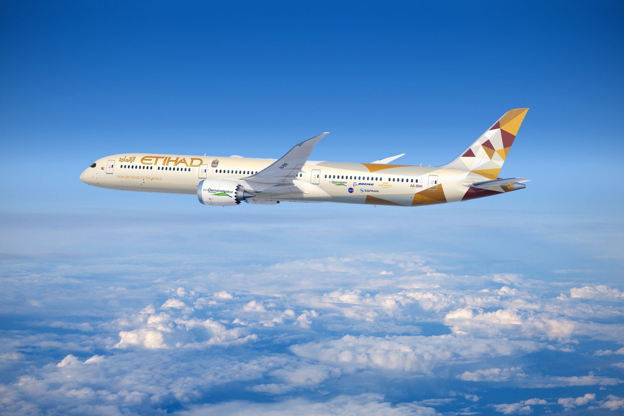 Etihad Airways and Boeing expand partnership
