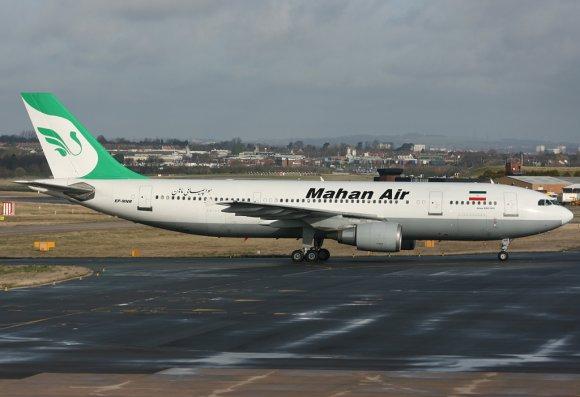 Iran claims US fighter jets 'endangered' Mahan Air passenger plane
