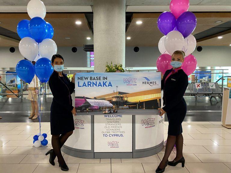 Wizz Air inaugurates base in Larnaka Airport
