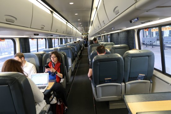 Amtrak expands reserved seating offering for Acela Business Class travelers