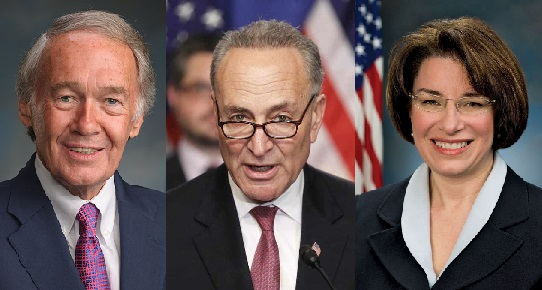 Senators Markey, Schumer, and Klobuchar introduce Fly Together Act