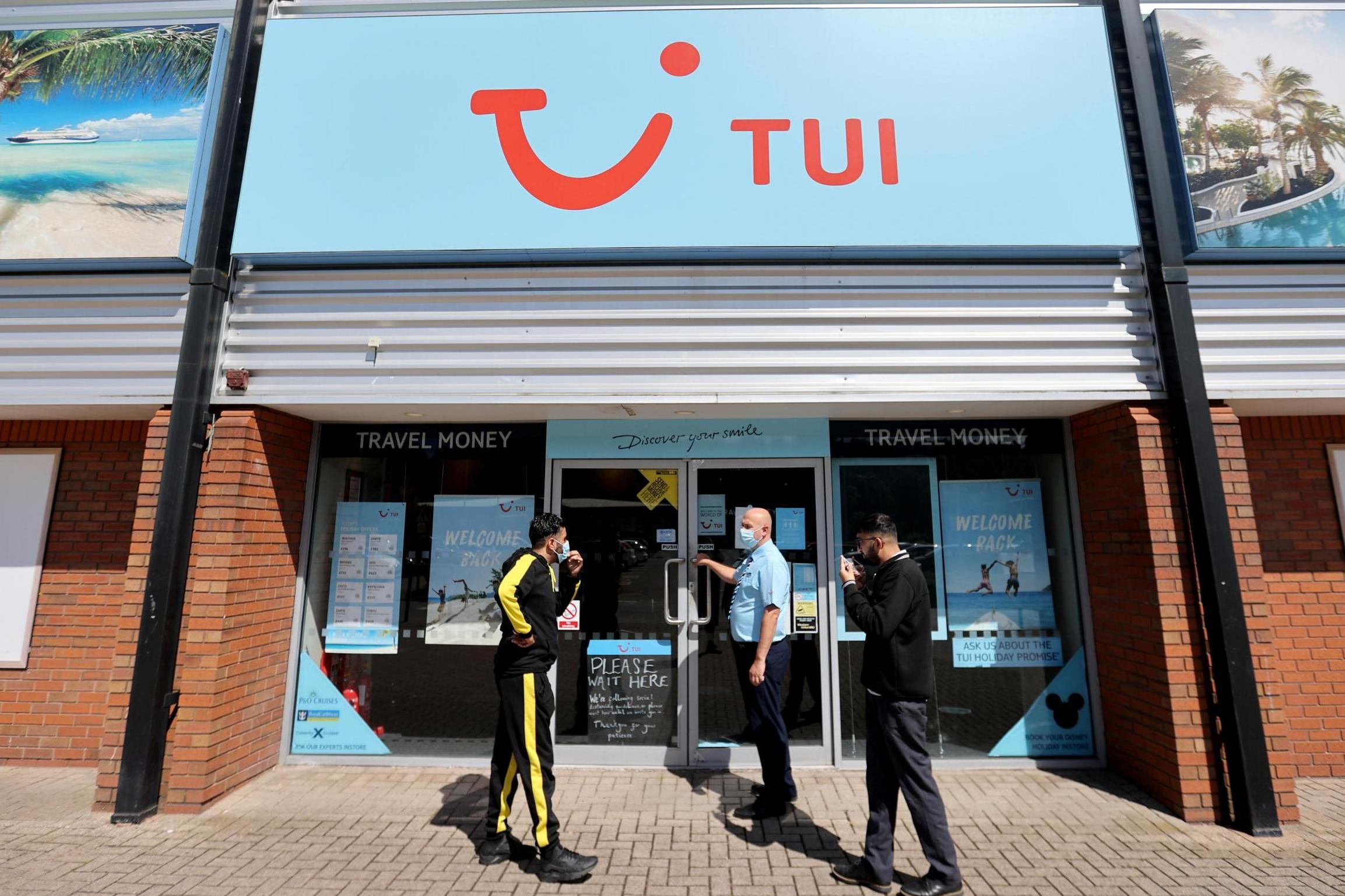 TUI To Close 166 High Street Stores After Changes In Customer Habits