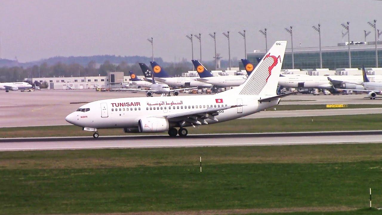 Nonstop flights resume from Munich to Tunis and Edinburgh