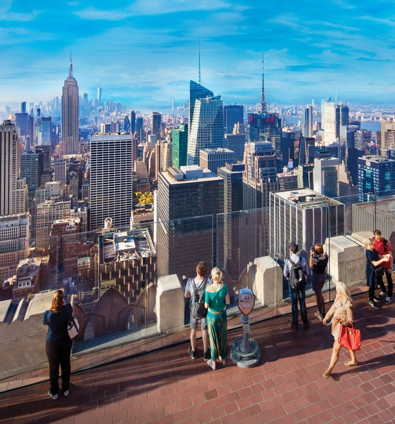 NYC Top of the Rock Observation Deck re-opens to public on August 6