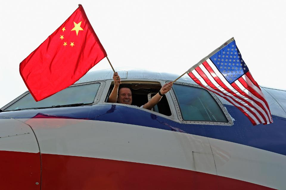 US and China vie to lead domestic aviation market globally