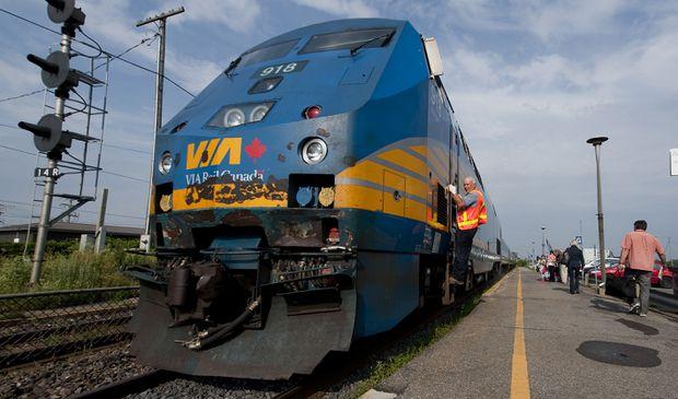 VIA Rail Canada re-launches Québec City-Montréal-Ottawa service