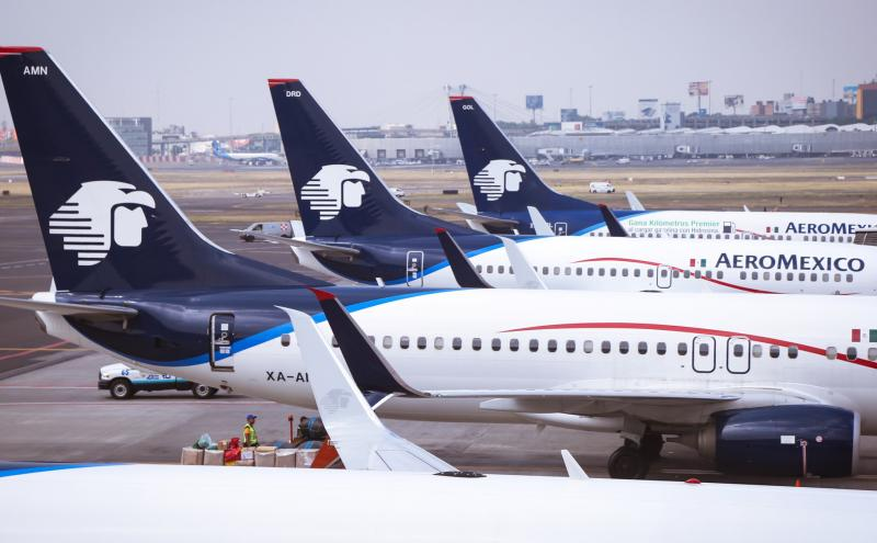 Aeromexico: Scheduled passenger capacity reduced by 86.9%