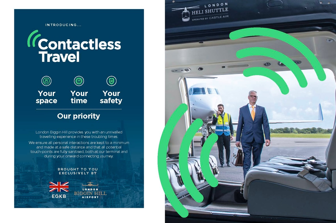 London Biggin Hill Airport launches Guide to Contactless Travel