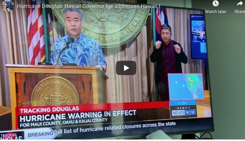 Why are Hawaiians take Hurricane Douglas not serious?