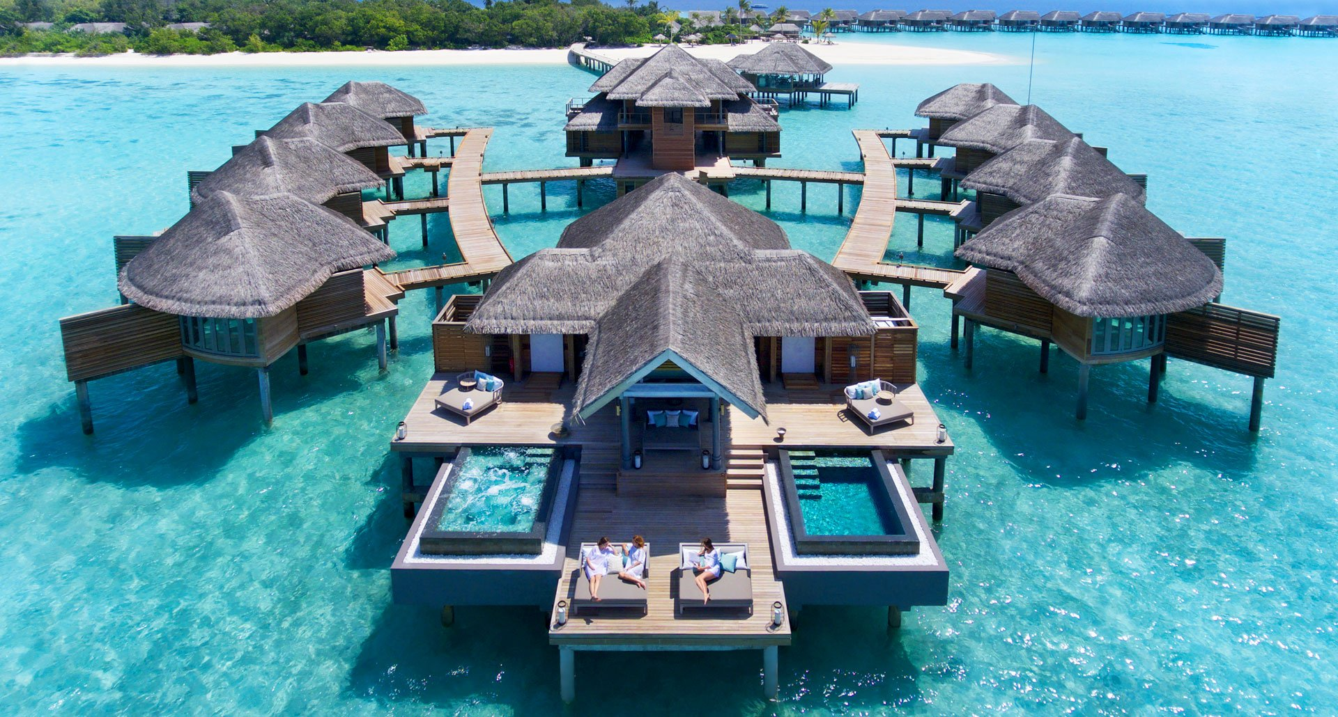 What about quarantine in an overwater bungalow in Maldives?