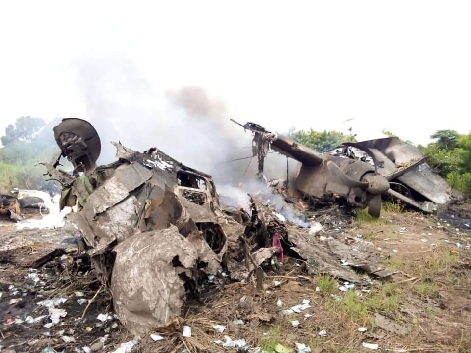 At least six people killed when plane loaded with cash crashes in South Sudan